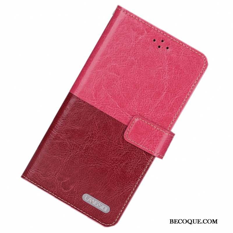 Htc One M7 Coque Silicone Housse Incassable Étui Cuir Véritable Téléphone Portable