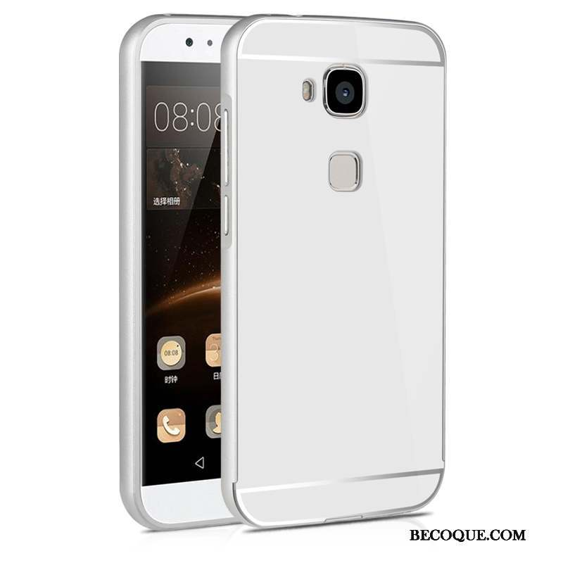 Huawei G9 Plus Étui Miroir Argent Protection Coque De Téléphone Difficile