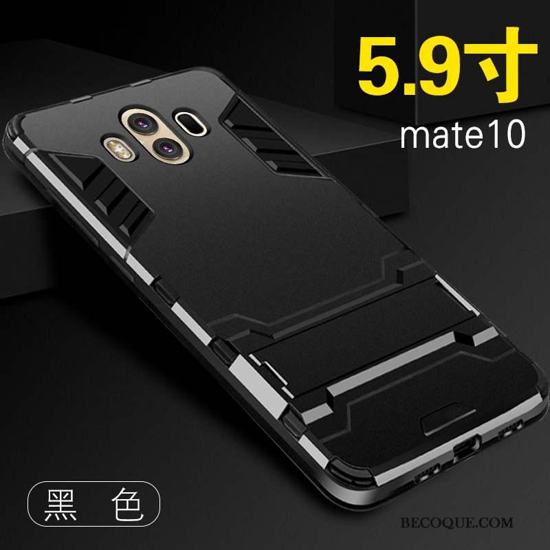 Huawei Mate 10 Personnalité Délavé En Daim Protection Bleu Tout Compris Coque De Téléphone