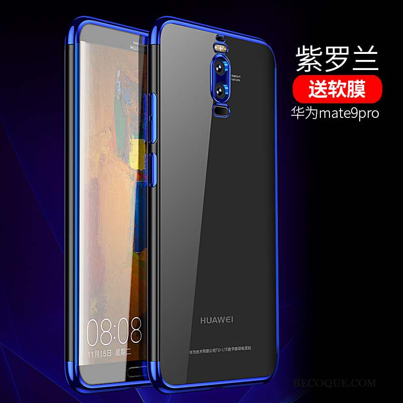 Huawei Mate 9 Pro Incassable Coque De Téléphone Très Mince Fluide Doux Transparent Tout Compris