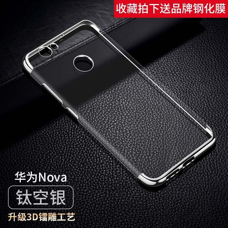 Huawei Nova Incassable Jeunesse Fluide Doux Coque De Téléphone Étui Rose