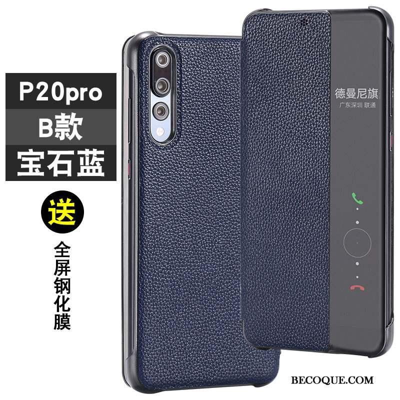 Huawei P20 Pro Coque Personnalité Protection Marque De Tendance Tout Compris Mode Incassable