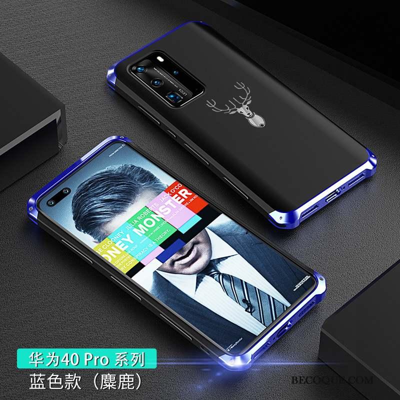 Huawei P40 Pro Délavé En Daim Personnalité Silicone Coque De Téléphone Incassable Net Rouge