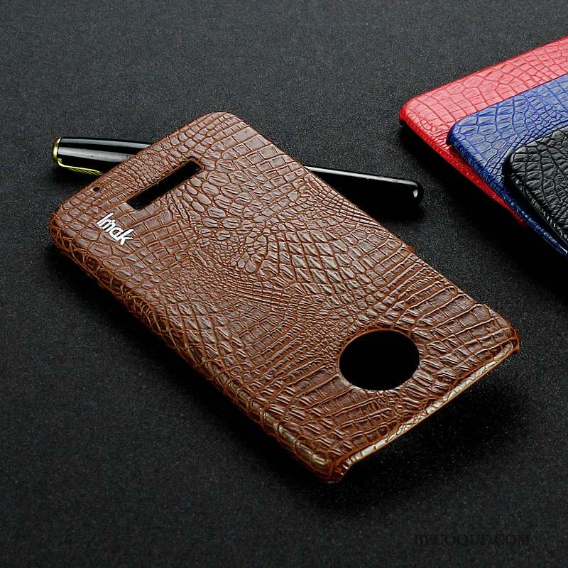 Moto Z Play Coque Couvercle Arrière Téléphone Portable Protection Étui Rouge