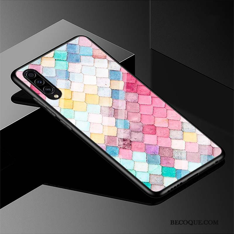 Samsung Galaxy A50s Coque Étui Silicone Noir Tout Compris Dessin Animé Charmant