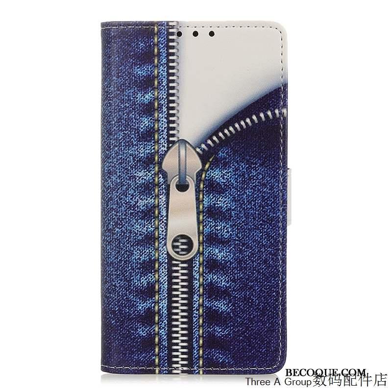 Samsung Galaxy A51 Incassable Coque De Téléphone Housse Bleu Nouveau Dessin Animé