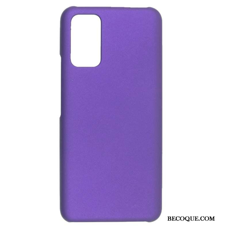 Samsung Galaxy A71 Coque De Téléphone Délavé En Daim Protection Difficile Étui Téléphone Portable