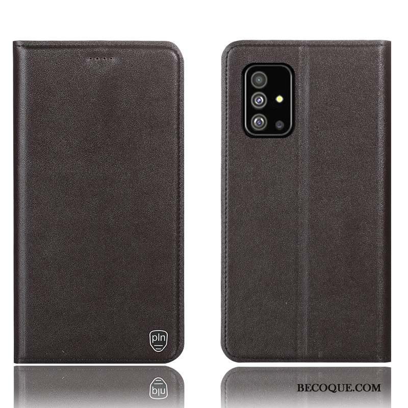 Samsung Galaxy A71 Housse Jaune Coque De Téléphone Incassable Modèle Fleurie Protection