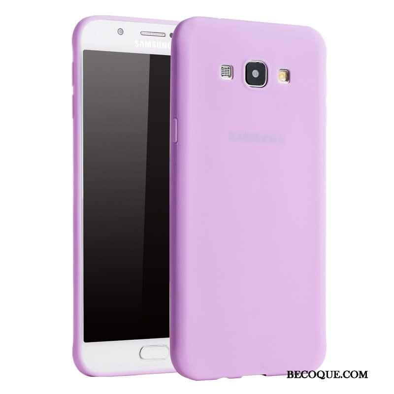 Samsung Galaxy A8 Border Téléphone Portable Coque De Téléphone Silicone Très Mince Tendance
