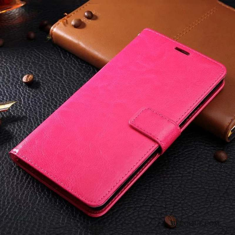 Samsung Galaxy J7 2017 Étui En Cuir Or Rose Similicuir Ornements Suspendus Business Coque De Téléphone