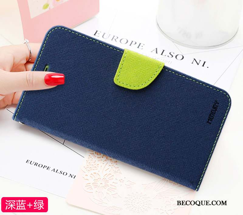Samsung Galaxy Note 10+ Violet Coque De Téléphone Étui En Cuir