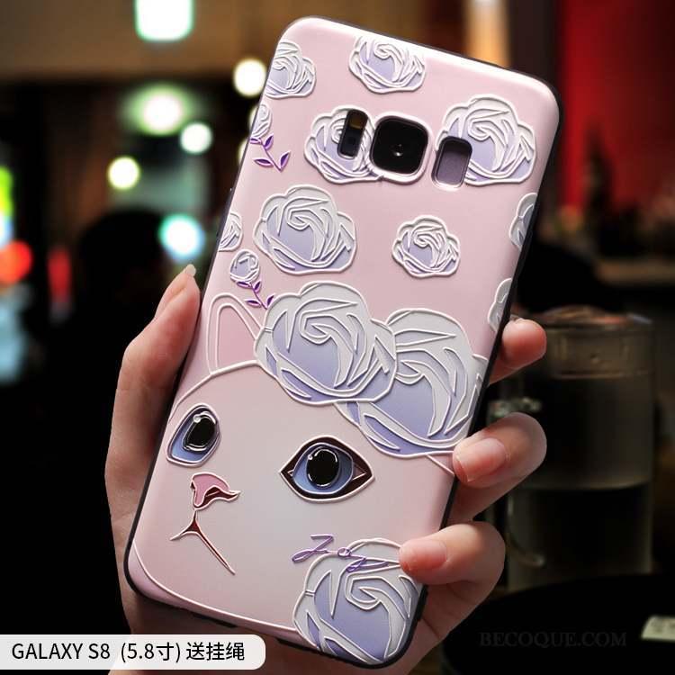 Samsung Galaxy S8 Créatif Silicone Ornements Suspendus Coque De Téléphone Frais Tout Compris