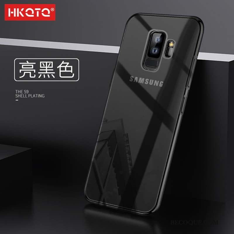 Samsung Galaxy S9 Silicone Incassable Tout Compris Protection Coque De Téléphone Transparent