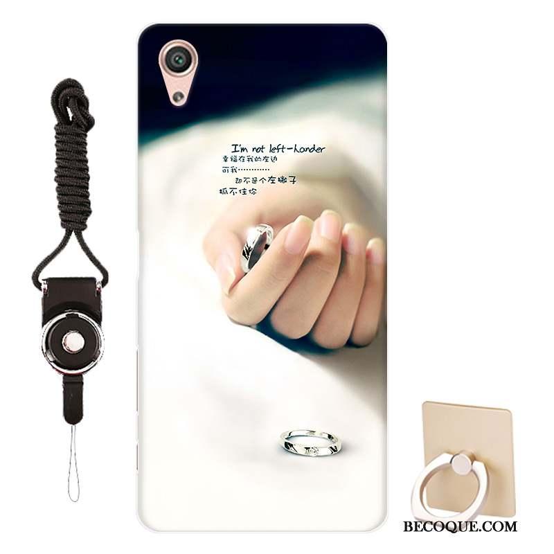 Sony Xperia X Performance Coque De Téléphone Noir Pour Modèle Personnalisé Étui