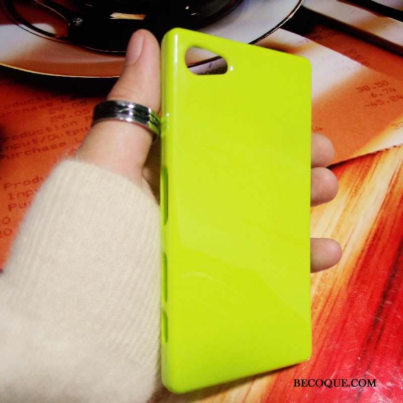 Sony Xperia Z5 Compact Violet Étui Coque Protection Support Fluide Doux