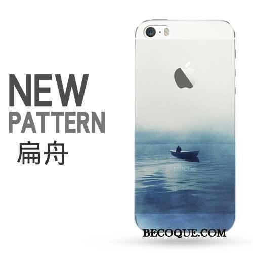 iPhone 5/5s Art Créatif Transparent Coque De Téléphone Border Protection
