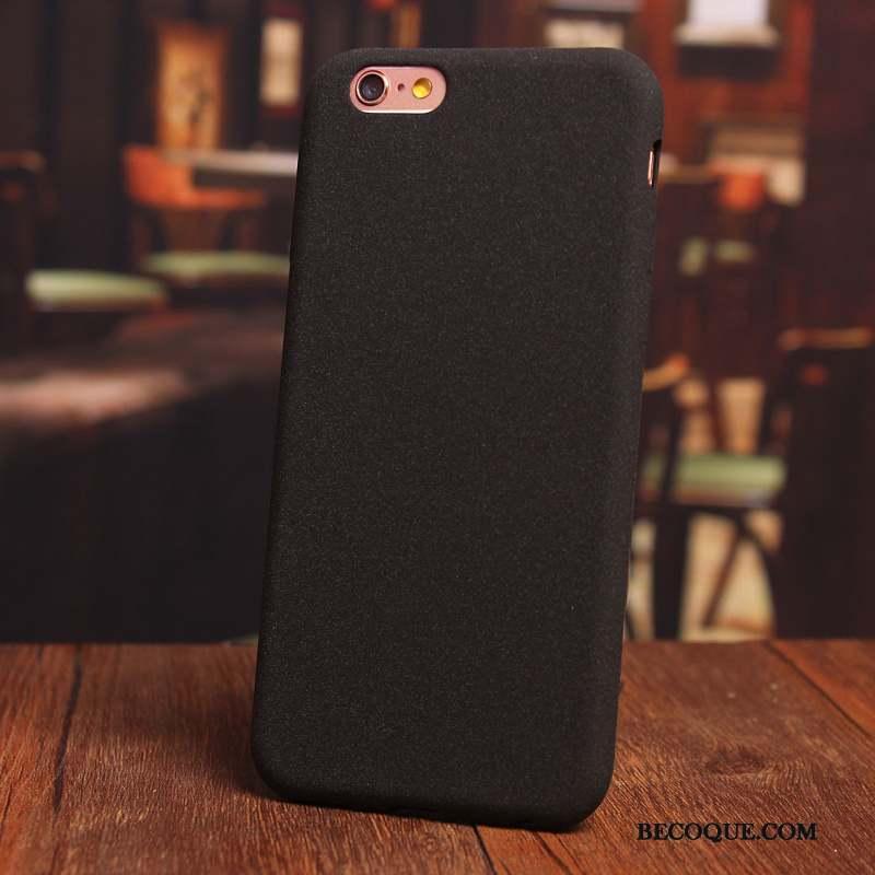 iPhone 6/6s Plus Personnalité Incassable Coque De Téléphone Simple Étui Délavé En Daim