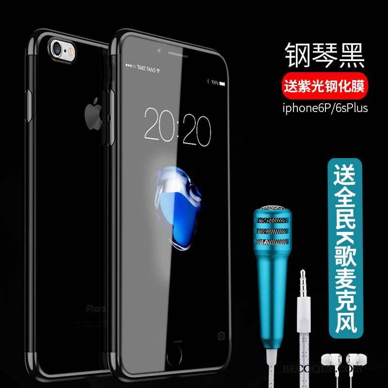 iPhone 6/6s Plus Tout Compris Transparent Bleu Incassable Tendance Coque De Téléphone