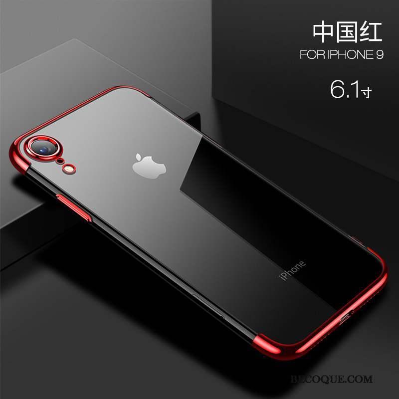 iPhone Xr Transparent Coque Silicone Nouveau Étui Très Mince