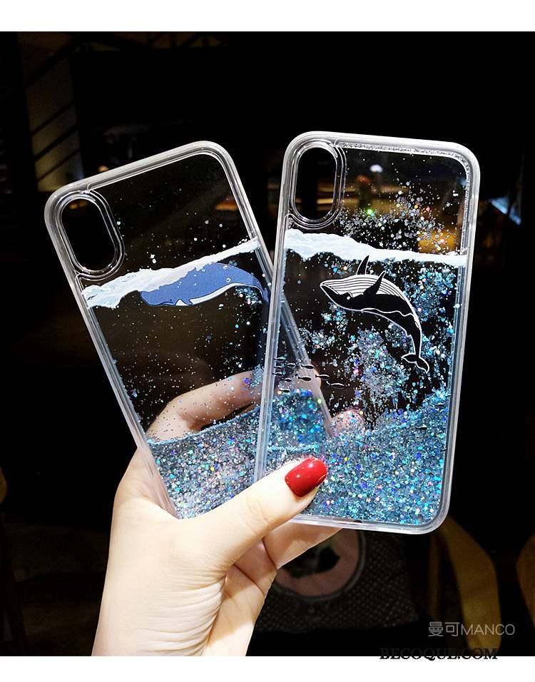 coque iphone xs silicone dessin