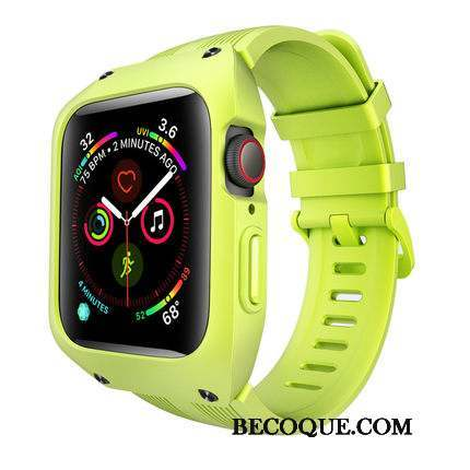 Apple Watch Series 1 Incassable Sport Coque Silicone Protection Trois Défenses