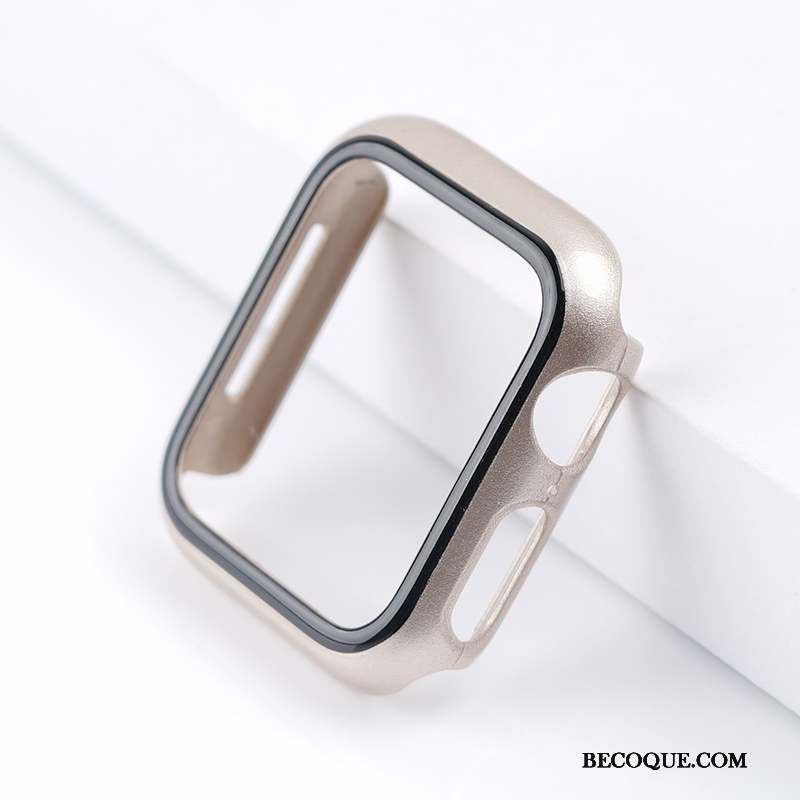 Apple Watch Series 3 Coque Or Jours Bicolore Sac Incassable Clair