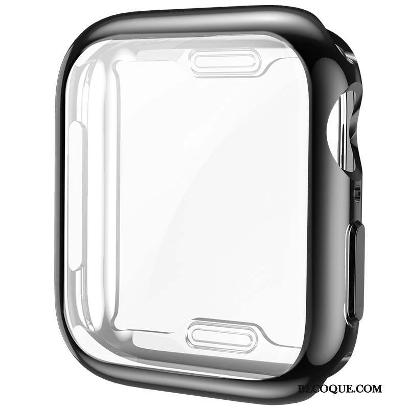 Apple Watch Series 4 Coque Membrane Tout Compris Fluide Doux Protection Silicone