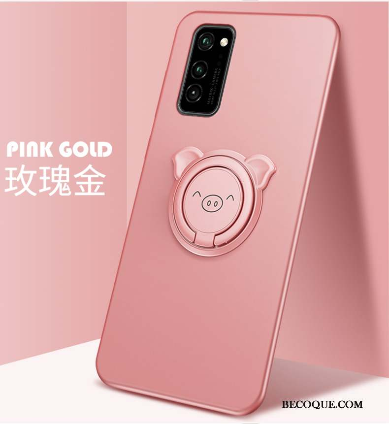 Honor View30 Pro Coque Tout Compris Protection Mignonne Simple Silicone Étui