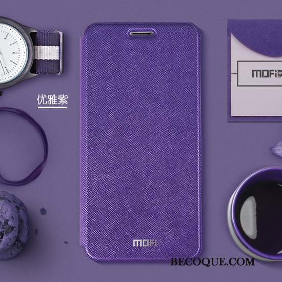 Huawei P Smart Coque Incassable Protection Silicone Violet Étui Étui En Cuir