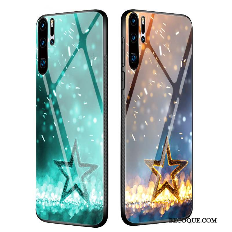 Huawei P30 Pro Coque Luxe Silicone Charmant Membrane Personnalité Mince