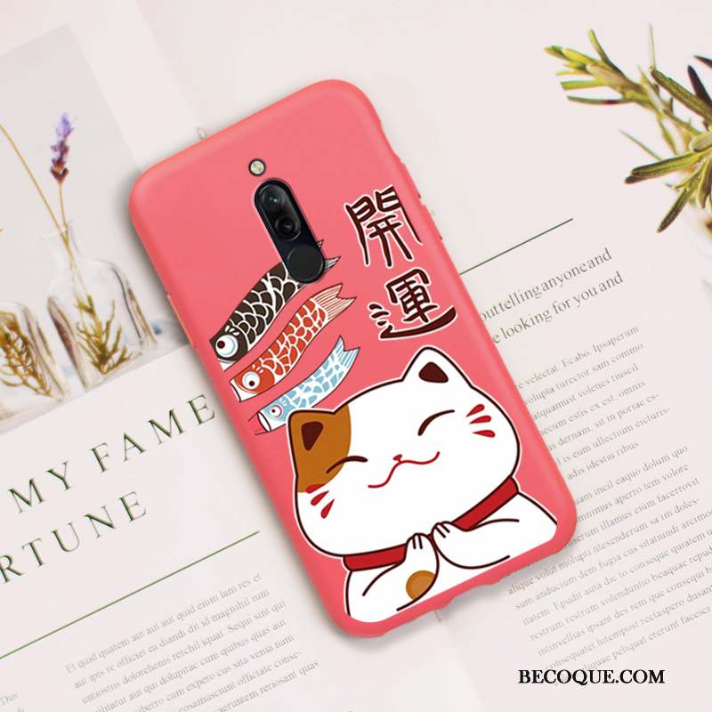 Redmi 8 Coque Richesse Charmant Protection Silicone Dessin Animé