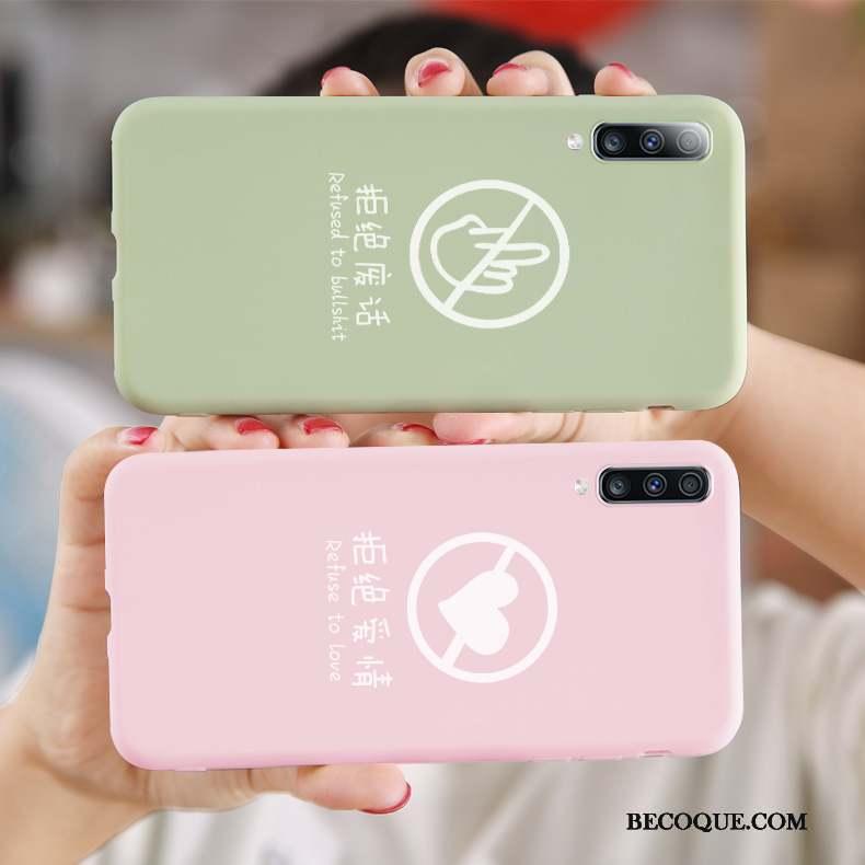 Samsung Galaxy A50s Vert Coque De Téléphone Incassable Personnalité Tendance Protection