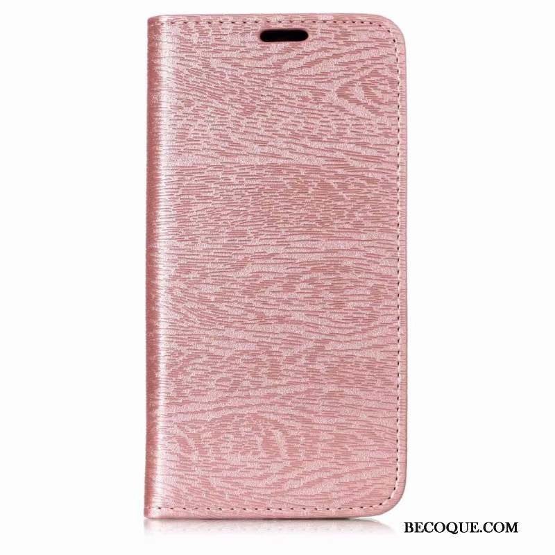 Samsung Galaxy A7 2018 Modèle Fleurie Support Téléphone Portable Protection Coque Or Rose