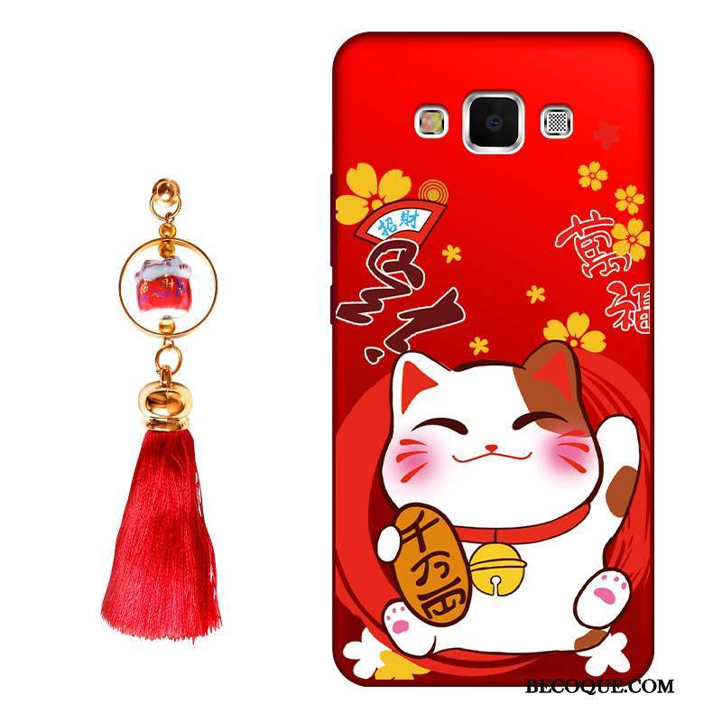 Samsung Galaxy A8 Coque Silicone Incassable Richesse Nouveau Protection Chat