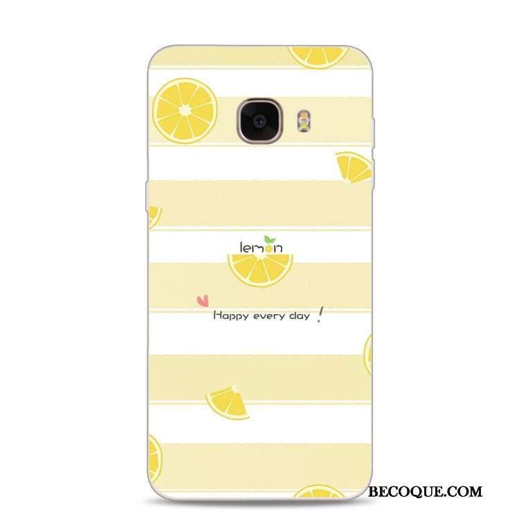 coque samsung a5 2017 citron