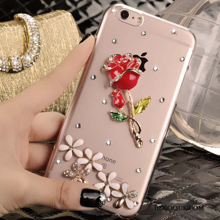 Samsung Galaxy Note 3 Protection Strass Coque Téléphone Portable Clair Rose