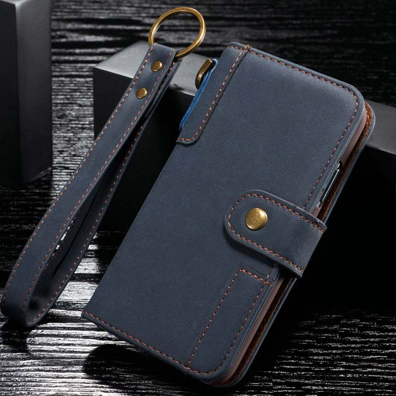 Samsung Galaxy S20+ Coque Étui En Cuir Incassable Cuir Véritable Protection Business Housse