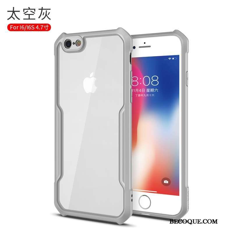 coque grise iphone 6 silicone