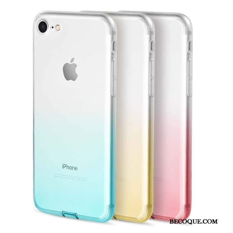 coque iphone 7 bleu clair