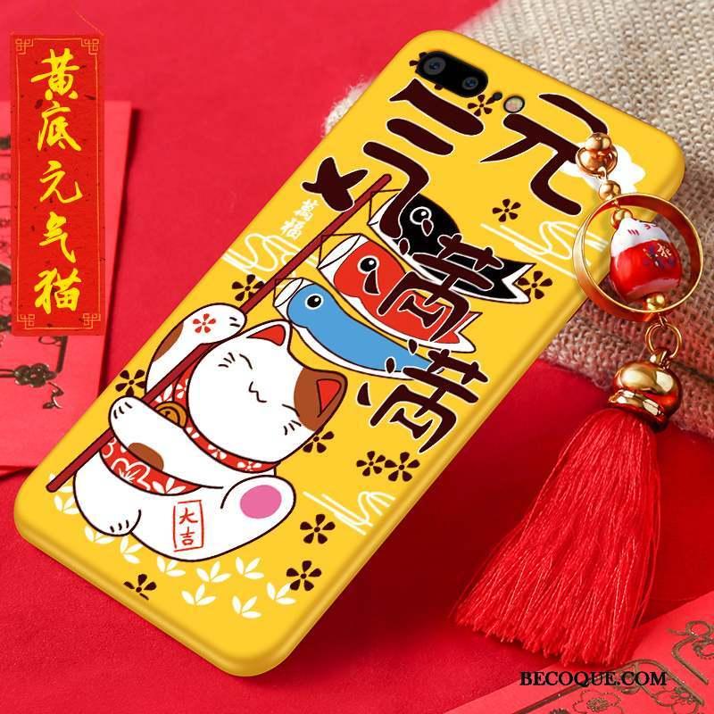 iphone 7 plus coque silicone jaune